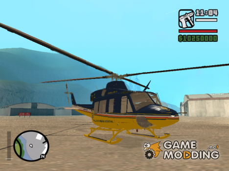 Bell 412for GTA San Andreas
