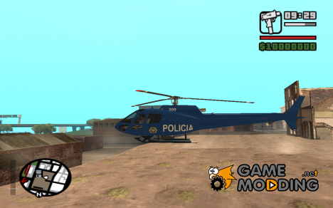 Eurocopter AS 550 Police D.F.for GTA San Andreas