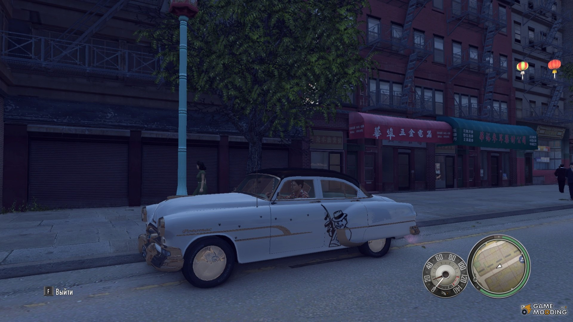 new tuning on cars v 4 by agens for mafia ii. Black Bedroom Furniture Sets. Home Design Ideas