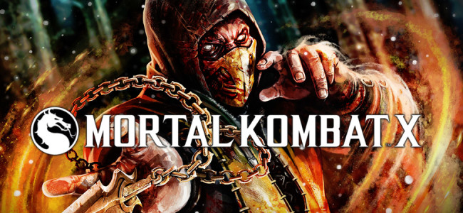 This month's prize-Mortal Kombat X!