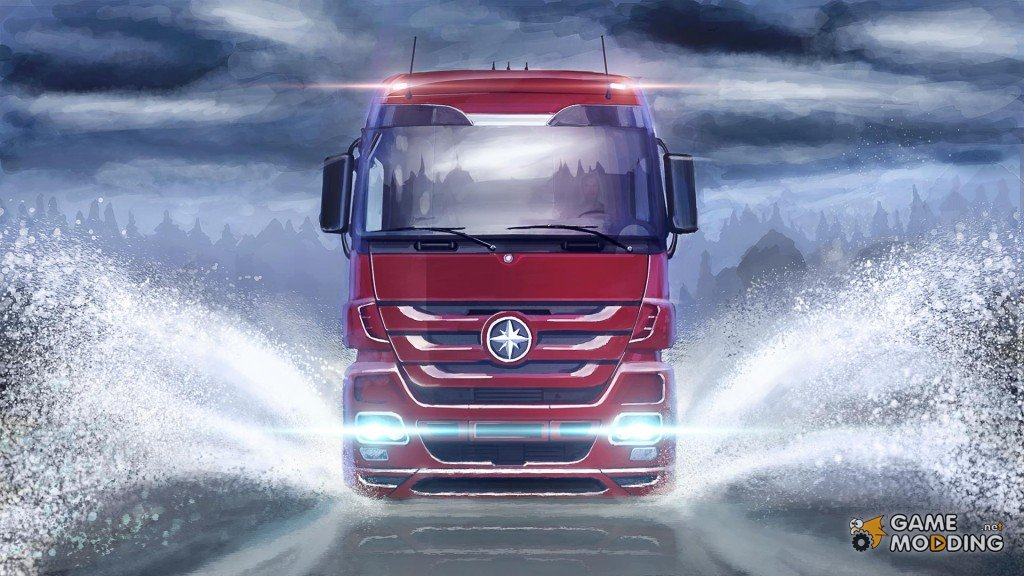 Get behind the wheel of Mercedes-Benz New Actros! Update 1.18 is ready